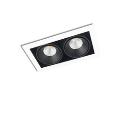 FRAME DOUBLE 2X CONE COB LED | Recessed ceiling lights | Orbit