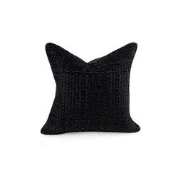 Taos Woven Hide Pillow | Cushions | Pfeifer Studio