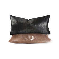 Vail Metallic Hide Pillow | Cushions | Pfeifer Studio