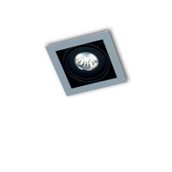 PICCOLO FRAME SINGLE 1X  MR16 ≤ 50W / LED MR16 12V | Lampade soffitto incasso | Orbit