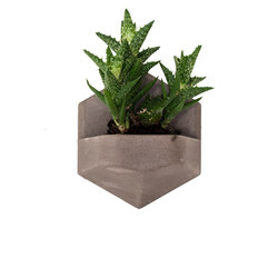 MonoPlanter | Concrete Light Grey | Plant pots | Valence Design