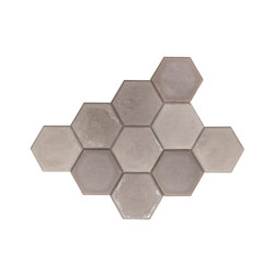 MonoTile | Concrete Light Grey | Wall decoration | Valence Design