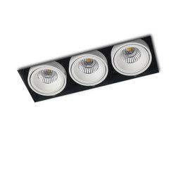 PICCOLO NO FRAME 3X CONE COB LED | Recessed ceiling lights | Orbit