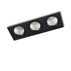 PICCOLO NO FRAME DEEP 3X COB LED | Plafonniers encastrés | Orbit