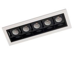 RITHM FRAME 5X COB LED | Recessed ceiling lights | Orbit
