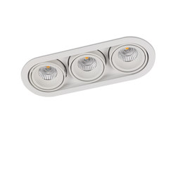 MINI RONDO TRIPLE 3X  CONE COB LED | Recessed ceiling lights | Orbit