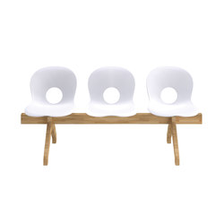 Olivia Wood Beam | Bancs d'attente | Rexite