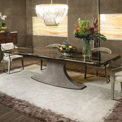 Hubert | Dining tables | Longhi S.p.a.