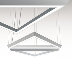 LightSound suspension LED lamp | Suspended lights | Quadrifoglio Group