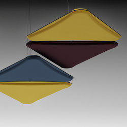 LightSound acoustic panel | Panneaux de plafond | The Quadrifoglio Group