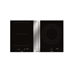 Flex induction cooktop with downdraft ventilation | CVL 410 | Placas de cocina | Gaggenau