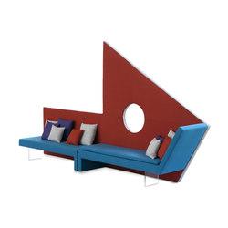 Micromega | Waiting area benches | Adrenalina