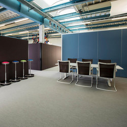 Sitag MCS room dividing partition system | Sound absorbing architectural systems | Sitag