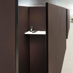 Sitag MCS room dividing partition system | Telephone booths | Sitag