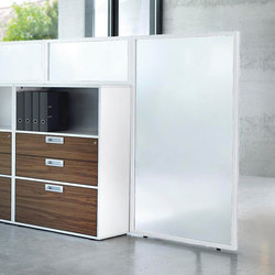 Sitag MCS room dividing partition system | Space dividers | Sitag
