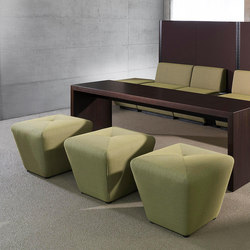 Sitag MCS room dividing partition system | seating modules | Poufs | Sitag