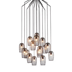 Constellation 12 Chandelier | Lampade sospensione | Kenneth Cobonpue