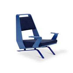 Speak easy 1S blu | Lounge chairs | Adrenalina