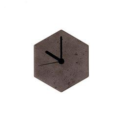 MonoClock   Concrete Dark Grey   Relojes   Valence Design