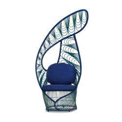 Peacock Easy Armchair | Chaises | Kenneth Cobonpue
