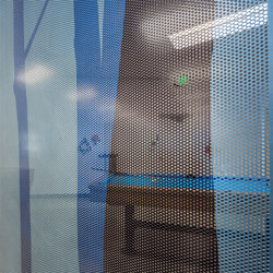 Perforated Metal Room Divider in Digital Imagery Collection Custom Art | Paneles | Moz Designs