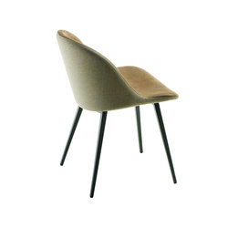 Sonny S Q | Visitors chairs / Side chairs | Midj S.p.A.