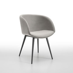 Sonny P Q | Visitors chairs / Side chairs | Midj