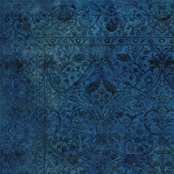 Broccato I night blue | Formatteppiche | Amini