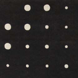 Bubbles JC-4 black white | Rugs | Amini