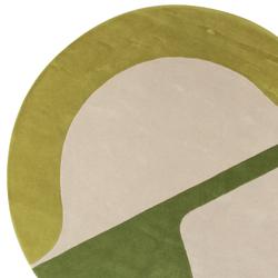 Isola JC-7 green | Formatteppiche | Amini