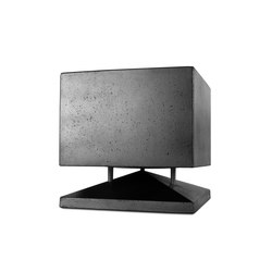 Cubino concrete black | Speakers | Architettura Sonora