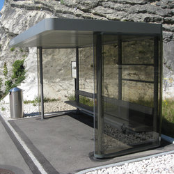 Berso | Bus stop shelters | Alledo by Christen