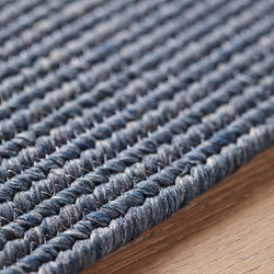 Plain blue | Formatteppiche | Amini