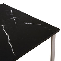 Man Side Table: Tabletop Marble Black | Coffee tables | NORR11
