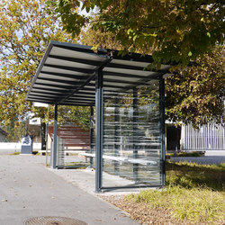 Zen | Bus stop shelters | Alledo by Christen