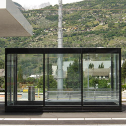 ZzB insulated | Bus stop shelters | Alledo by Christen