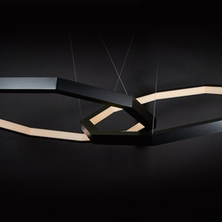 Linked Luxennea Chandelier | Suspended lights | Karice
