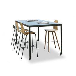 Kant High Table | Tables de réunion debout | 8000C