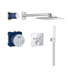 Grohtherm SmartControl Perfect shower set with Rainshower 310 SmartActive Cube | Shower controls | GROHE