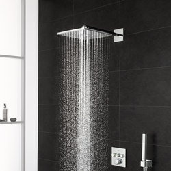 Grohtherm SmartControl Perfect shower set with Rainshower 310 SmartActive Cube | Shower taps / mixers | GROHE
