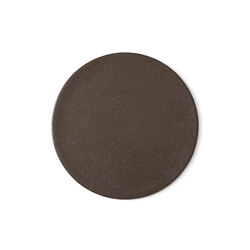 New Norm Plate/Lid | Ø21,5 cm Dark Glazed | Vajilla | MENU