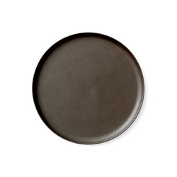 New Norm Dinner Plate | Ø27,5 cm Dark Glazed | Vajilla | MENU