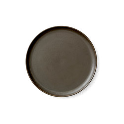 New Norm Lunch Plate | Ø23 cm Dark Glazed | Vajilla | MENU