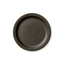 New Norm Plate/Dish | Ø27 cm Dark Glazed | Vajilla | MENU