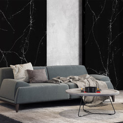 Unique Marquina™ | Mineral composite panels | Compac