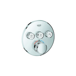 Grohtherm SmartControl Thermostat for concealed installation with 3 valves | Shower controls | GROHE