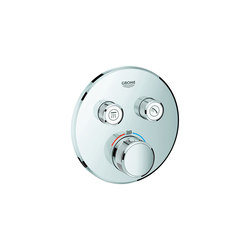 Grohtherm SmartControl Thermostat for concealed installation with 2 valves | Shower taps / mixers | GROHE