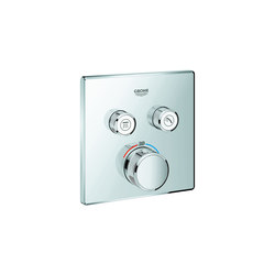 Grohtherm SmartControl Thermostat for concealed installation with 2 valves | Grifería para duchas | GROHE