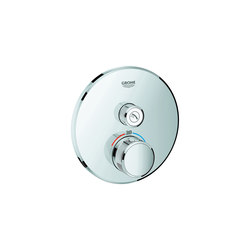 Grohtherm SmartControl Thermostat for concealed installation with one valve | Shower controls | GROHE
