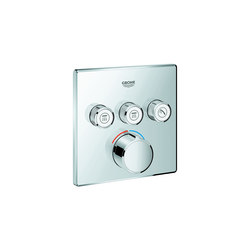 SmartControl Concealed mixer with 3 valves | Shower controls | GROHE